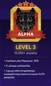 Slotwolf casino kokemuksia: kanta-asiakasohjelma ja bonukset